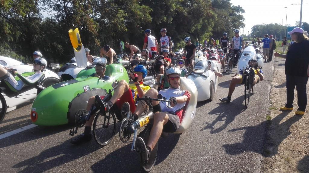 start 100 km WK 2015 voorste rijen